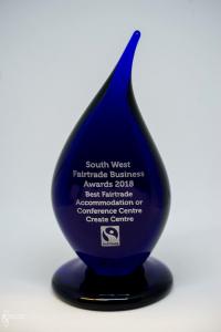 Blue Glass trophy MS